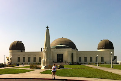Griffith Observatory Hiking to the hollywood sign thebrighterwriter.blogspot.com #California