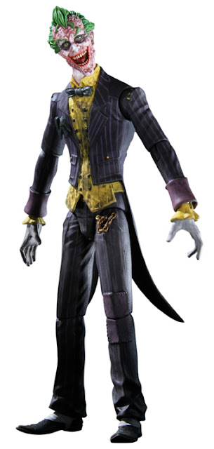 New York Comic-Con 2011 Exclusive Sickened Variant The Joker Batman Arkham City Action Figure