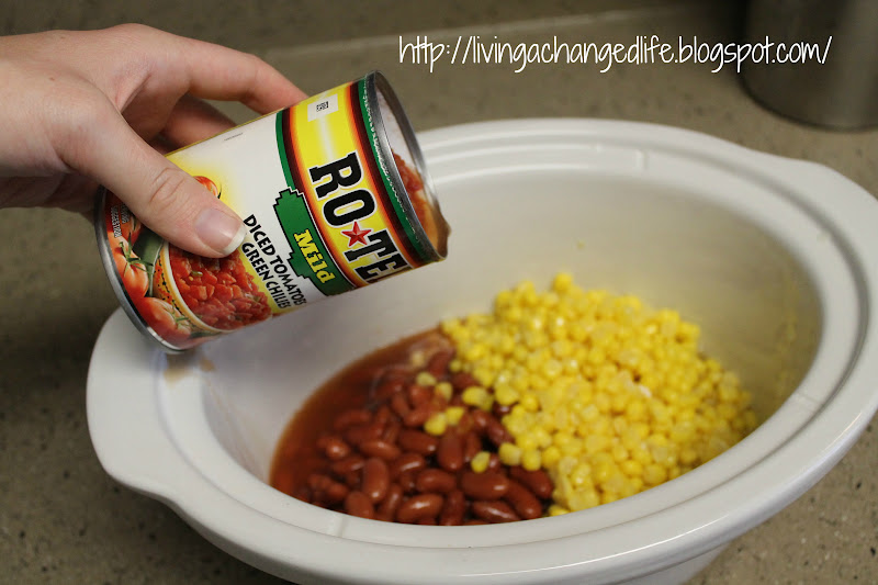 Living a Changed Life: Recipe Review: Turkey Chili Taco Soup