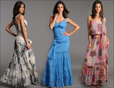 Summer Dresses Collection: Long Summer Dresses 2011