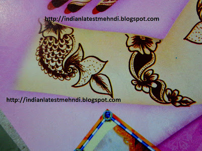 bridal mehndi design for arm of bride