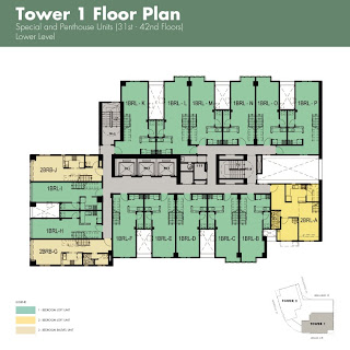 The Columns Makati Special Penthouse Floor Plan