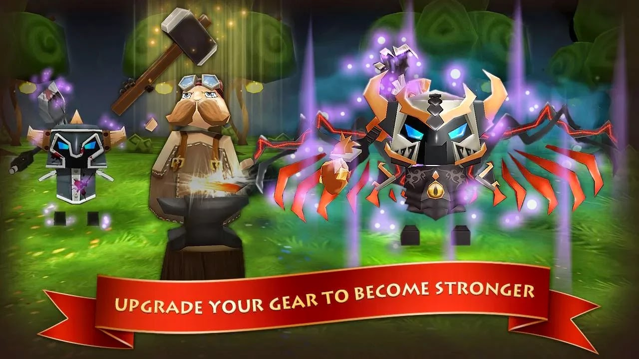 Android Elements: Epic Heroes Apk resimi 4