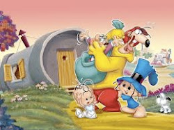 Mis personajes animados de la infancia: Hijitus, Larguirucho, Pichichus...