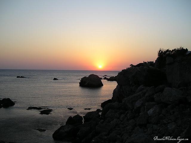 Закат. Мыс Сарыч