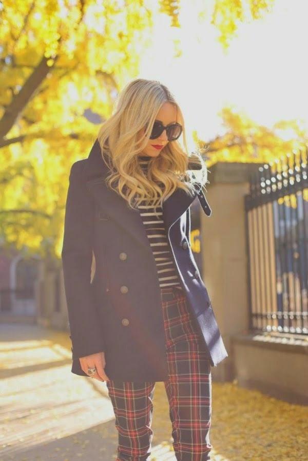 fall fashion plaid