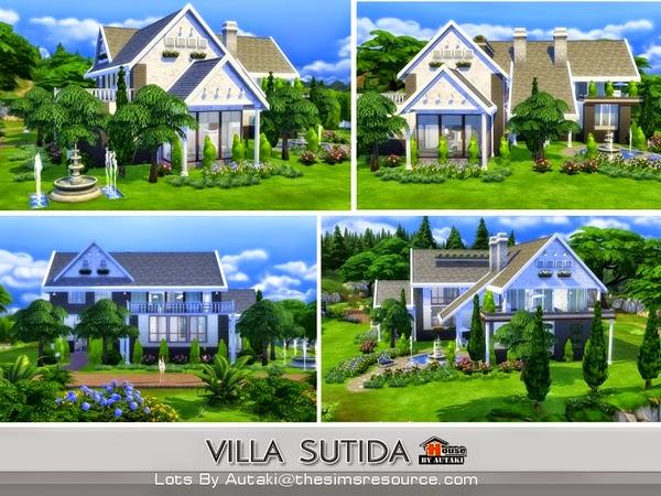Casa moderna villa sutida the sims 4 pirralho do game for Casas sims 4 modernas