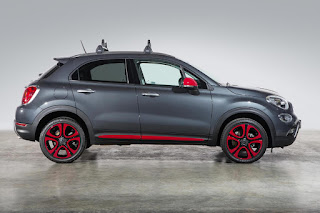 Fiat 500X With Mopar Accessories (2015) Side