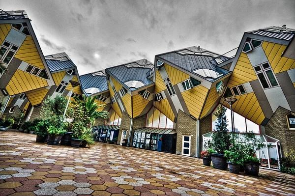 Cube Houses Netherlands, Unique Homes