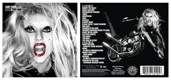 lady gaga born this way album cover special edition. Born This Way: Special Edition