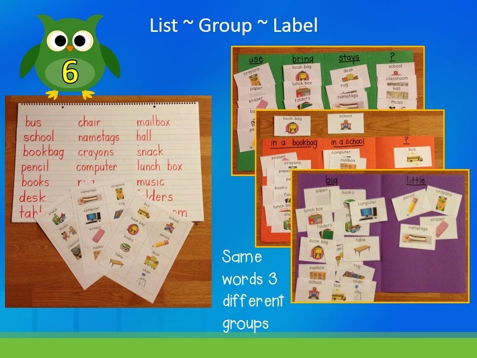 lucky 7  vocabulary ideas for primary students
