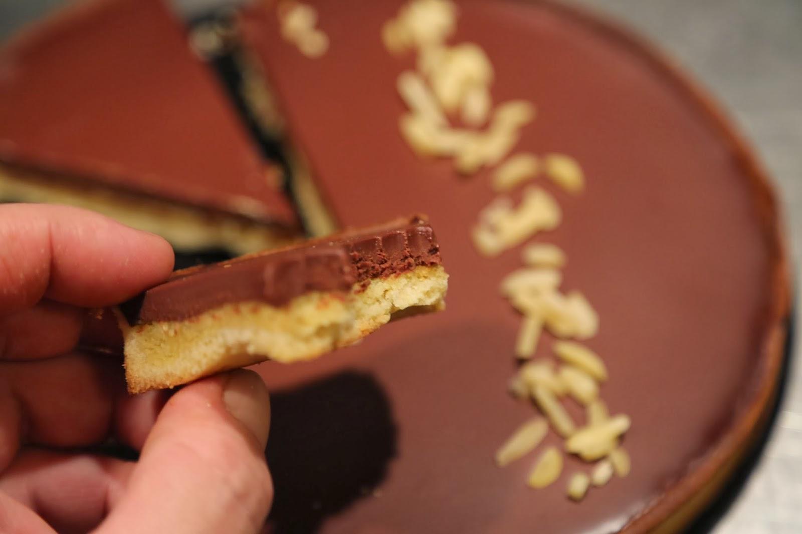 tarte chocolat frangipane