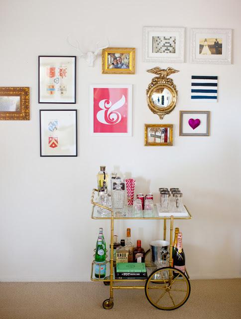 En mi espacio vital muebles recuperados y decoraci n vintage camareras vintage vintage - Carrito bebidas ...