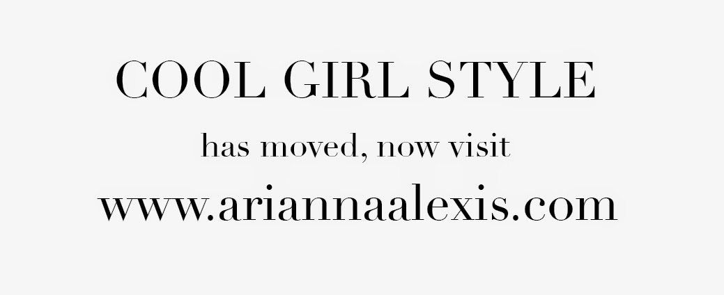 COOL GIRL STYLE by: Arianna