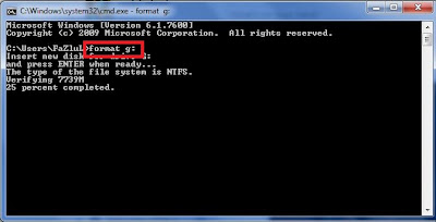 How to Format USB Pen Drives Using Command Prompt to Delete Viruses Permanently