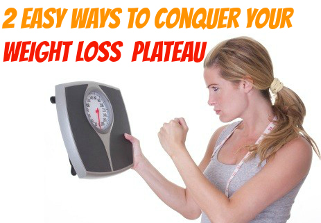 how to start losing weight again after a plateau