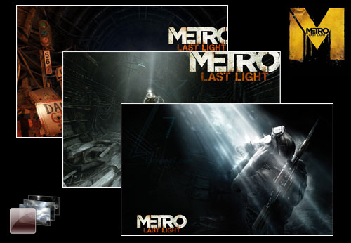 METRO: Last Light Theme Poster