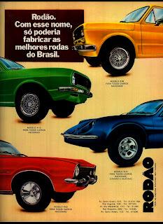 propaganda Rodão - 1977.  reclame de carros anos 70. brazilian advertising cars in the 70. os anos 70. história da década de 70; Brazil in the 70s; propaganda carros anos 70; Oswaldo Hernandez;