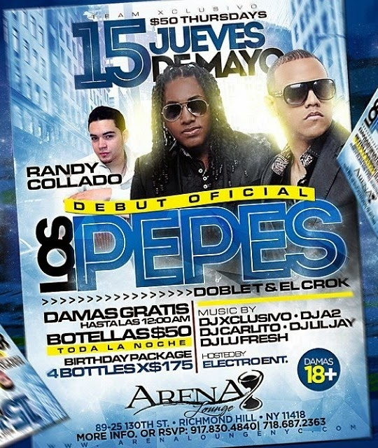 Los Pepes - Arena Lounge - May 15, 2014