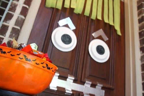 livinglocurto - puerta halloween