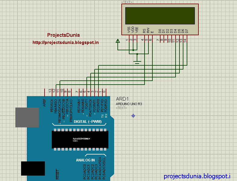How to interface lcd with arduino uno projectsdunia circuit diagram of lcd interfacing asfbconference2016 Gallery