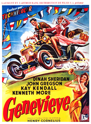 Poster Of Genevieve 1953 Full Movie Download 300MB In Hindi English Dual Audio 480P Compressed Small Size Pc Movie