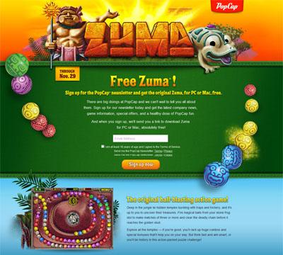 Free Zuma Deluxe