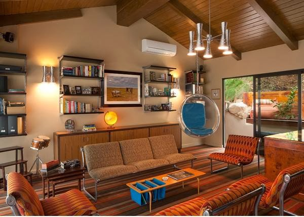 If You Notice, You Will Find A Hanging Bubble Chair Like Swing, Really  Gives The Whole Room Changes. It Turns Out The House With Contemporary  Traditional ...