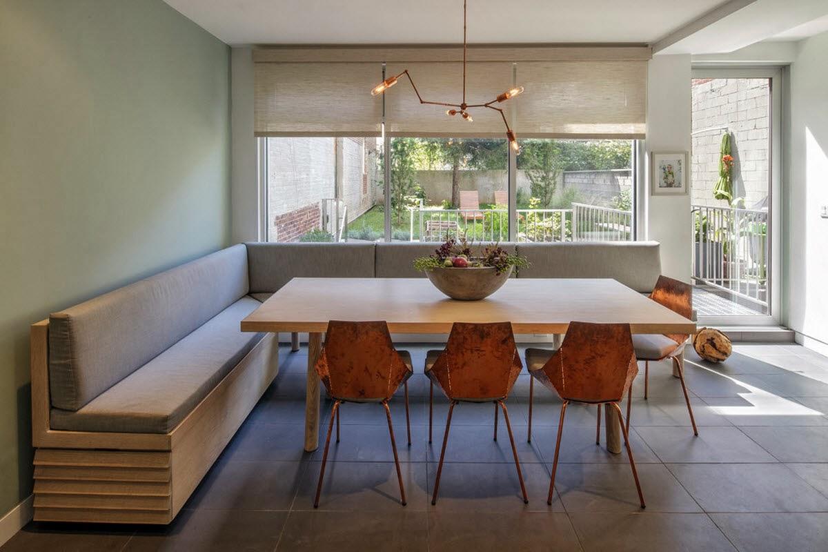 Ruang Makan Modern Dengan Dinding Kaca 1