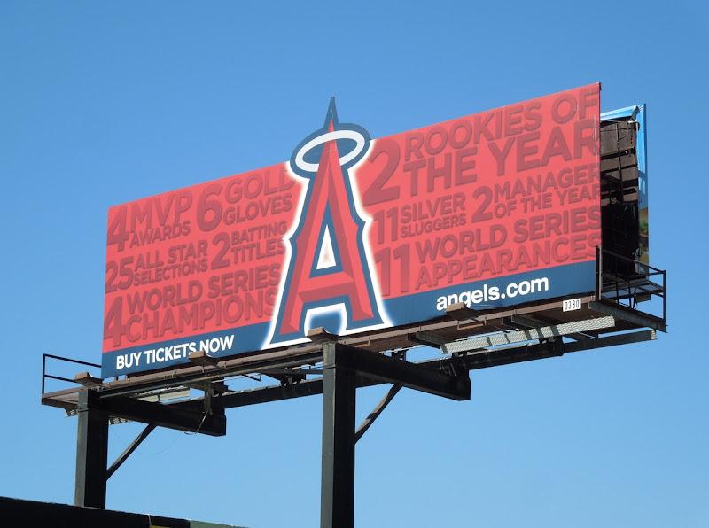Anaheim Angels extension baseball billboard