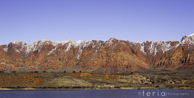 Southern Utah Winter Landscapes