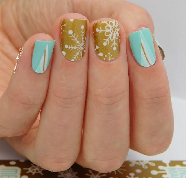 Thumbs Up - Snow Flake Nail Wraps