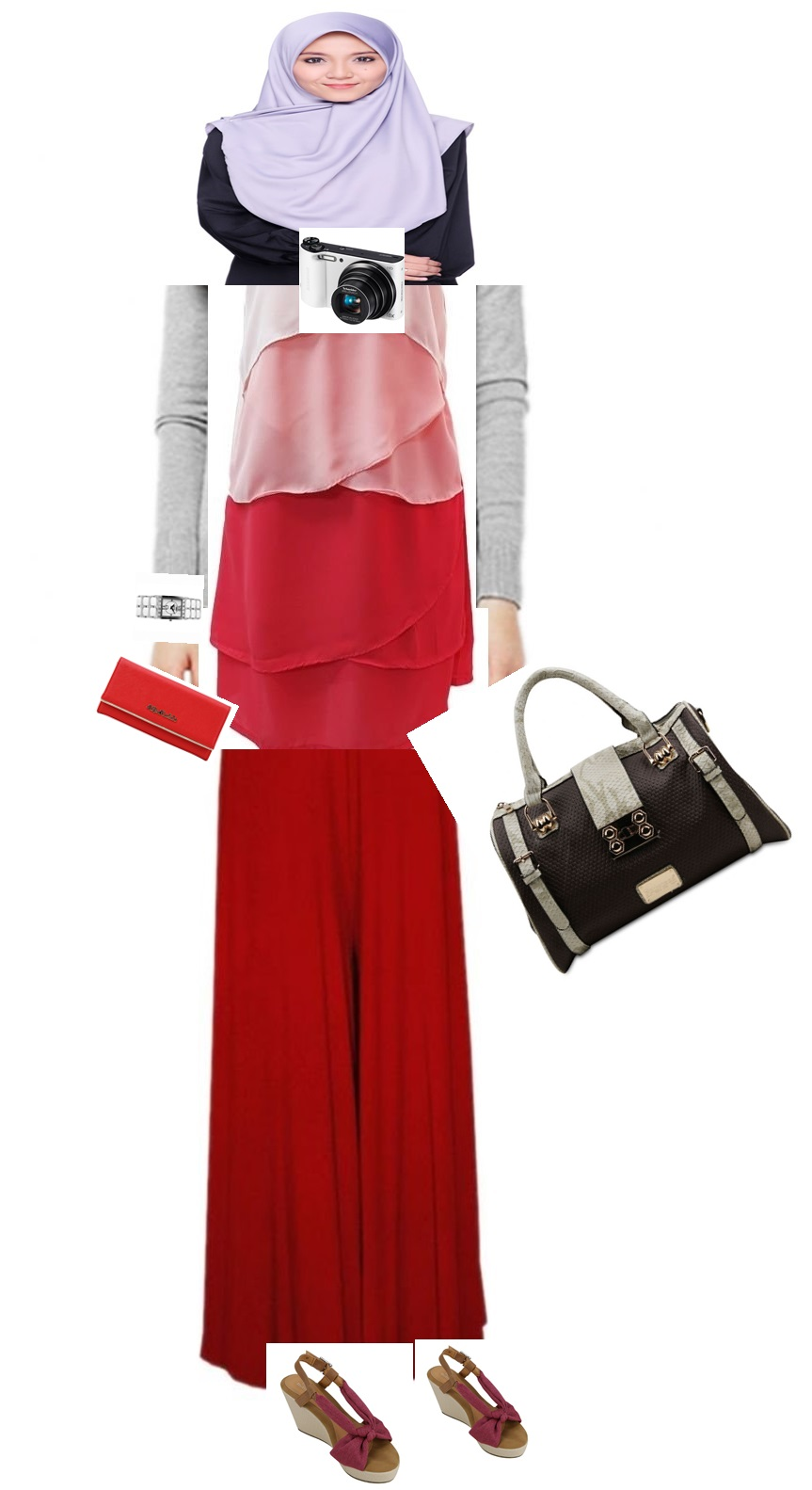 bergaya dengan lazada, shopping di Lazada