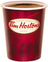 tom horton's coffee