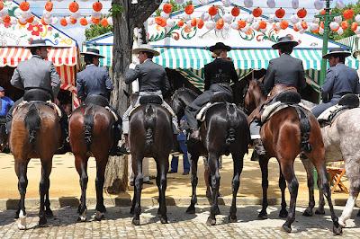 Feria de Abril - cavallos