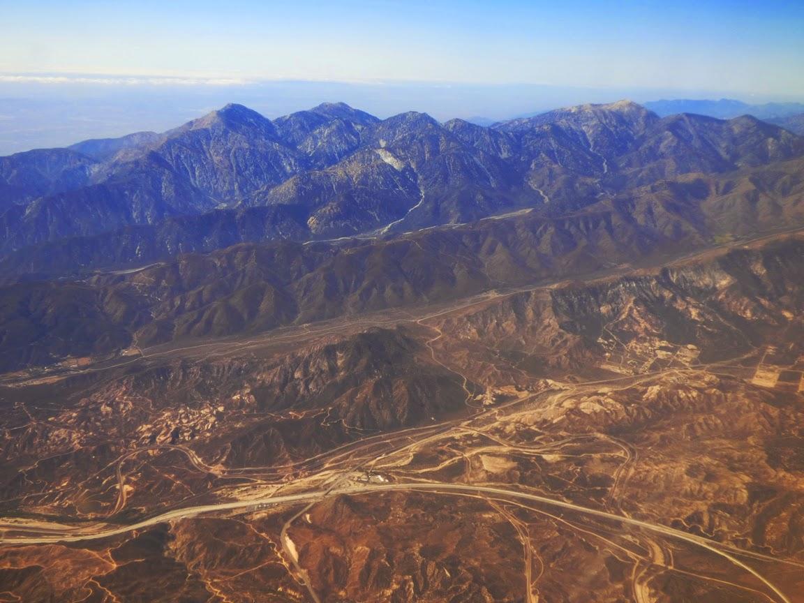 Geotripper San Gabriel Mountains National Monument Established - Us map san gabriels mountain range