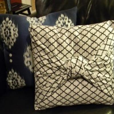 Fundas de almohadones sin coser, rapidas y faciles