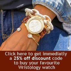 Clicca qui per avere un 25% di sconto sull'acquisto di un favoloso orologio Wristology