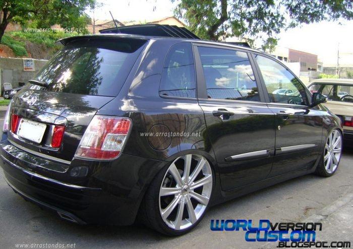 World Version Custom Blackmotion Fiat Stilo Rodas Aro 19