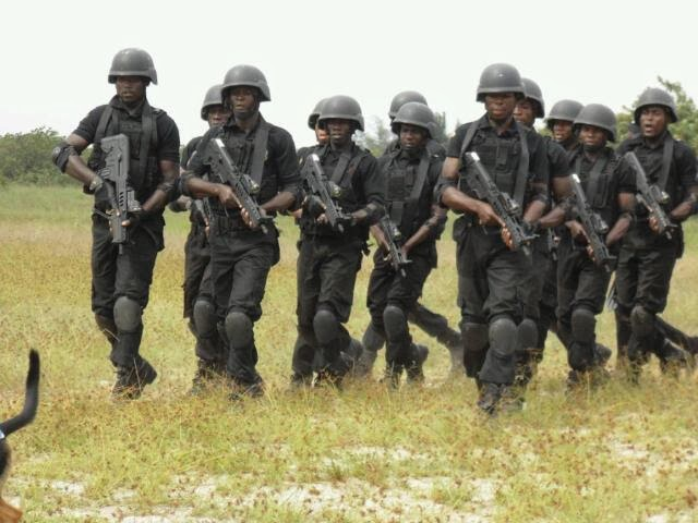 World Military And Police Forces Nigeria