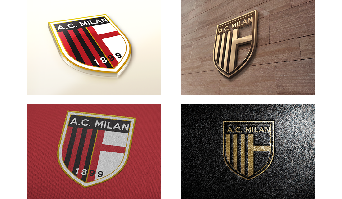 Concepts Rebranding Ac Milan Footy Fair