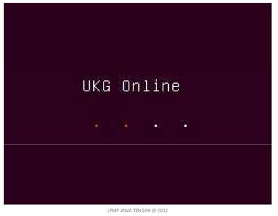 Tampilan UKG online-2