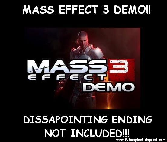 Mass Effect 3 Demotivational, Mass Effect 3 funnies, Mass Effect 3 Ending, Xbox, Kinect