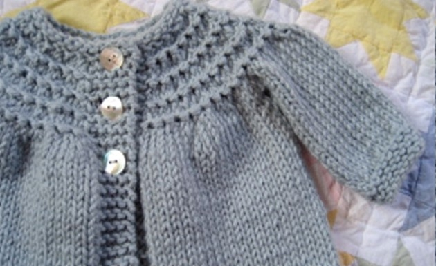 Easy Baby Jacket Knitting Pattern : HUELLAS DE NOIRITA: INTENTO SACAR UN PUNTO Y NO ME SALE