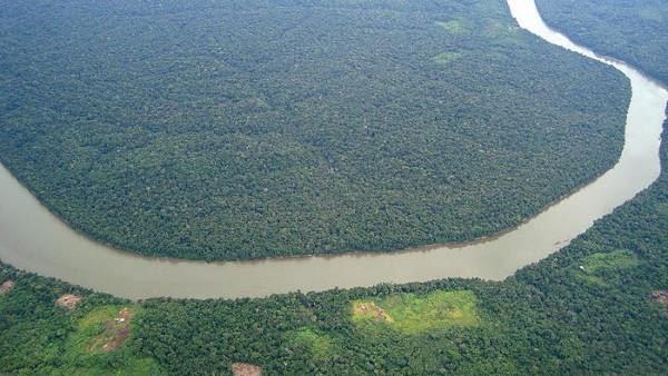 Hutan Hujan Sungai Amazon, peradaban Amazon, Terra Preta