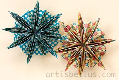 Origami Rosettes