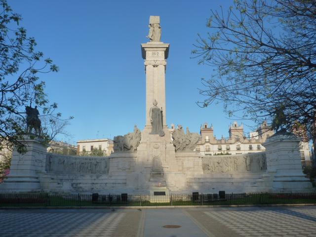 Plaza de España Cádiz