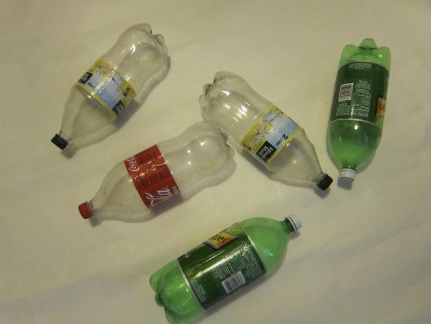 jardim vertical utilizando garrafas pet : jardim vertical utilizando garrafas pet:Fazendo um jardim com garrafas PET – Ideias Green