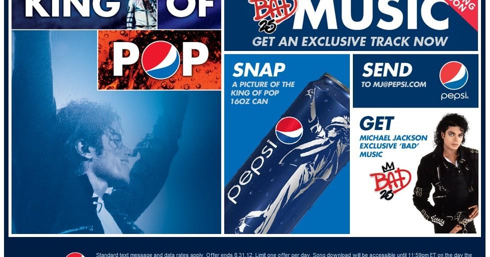 Pepsi: michael jacksons bad 25