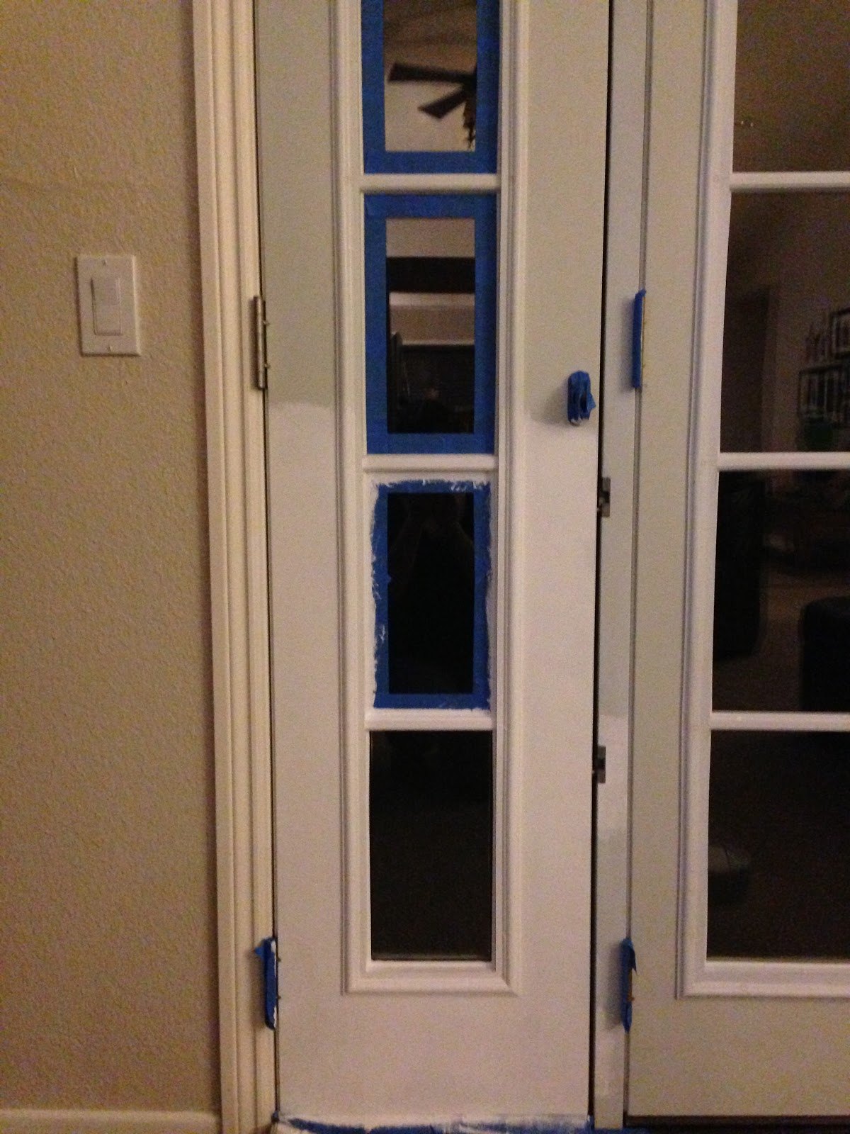 How to install french doors Bunnings Warehouse